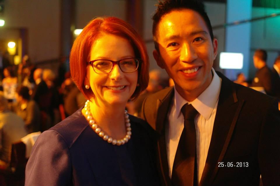Julia and Gary